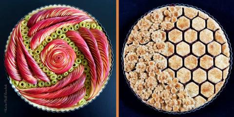 11 tartes dignes d'être exposées dans un musé...