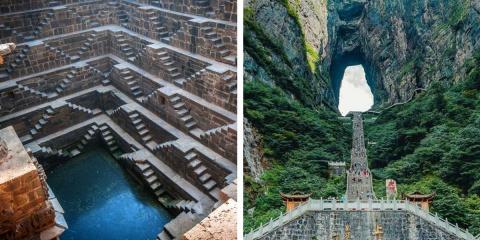9 escaliers incroyables à tomber par terre