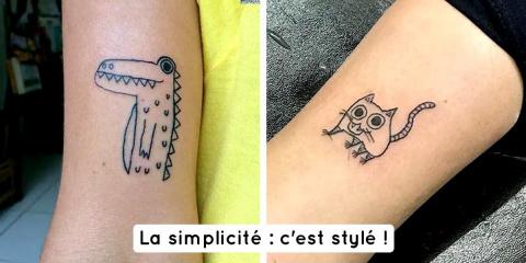 14 tattoos hyper stylés sans savoir dessiner...