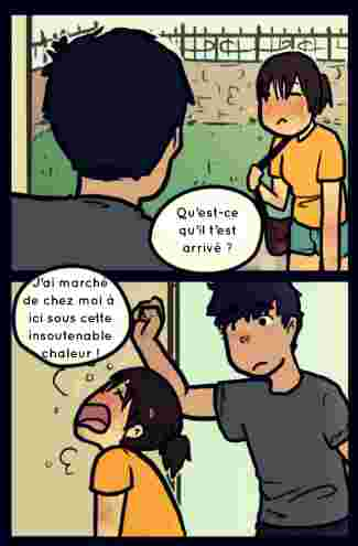 bd, those, comics, couple, mignon, retrouver, chaud