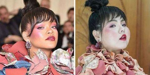 Elle recrée les vêtements de célébrités avec...