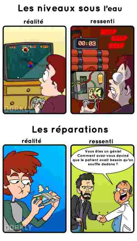 jeux-vidéos expectation réalité