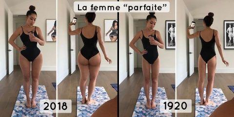Une femme se photoshoppe pour avoir le corps...