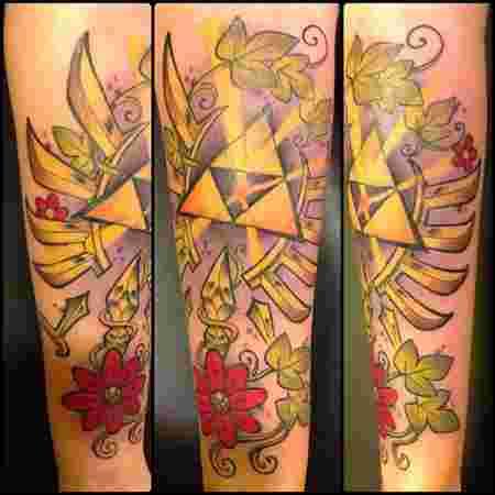 Ces Tatouages Legend Of Zelda Vont Emoustiller Le Fan Qui Est En