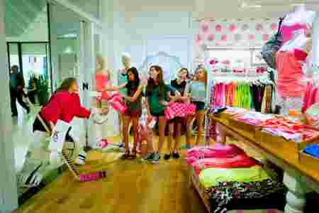 hockeyeuse, magasin, vêtements, femmes