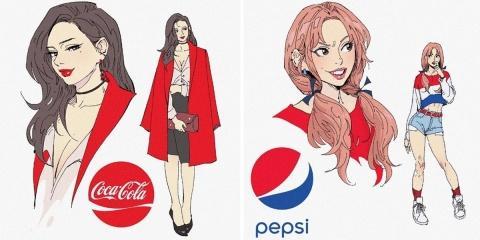 14 illustrations de sodas célèbres transformé...