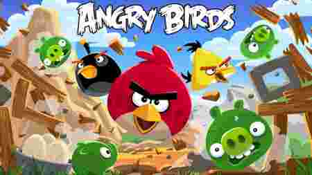 Applications premier modèle iPhone oubliées Angry Birds