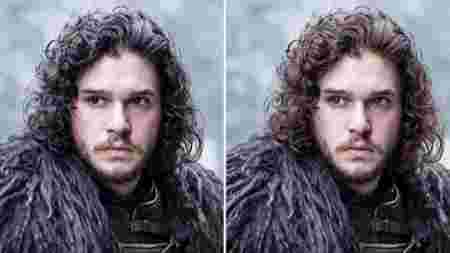 Entertainment Game of Thrones oeuvre George R.R. Martin apparence personnages Jon Snow Kit Harington