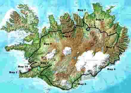 route, islande