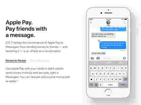apple pay, imessage