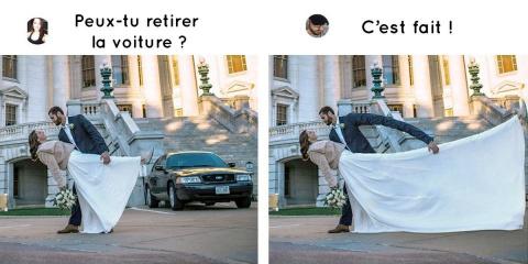 Cet expert en Photoshop retouche avec humour...