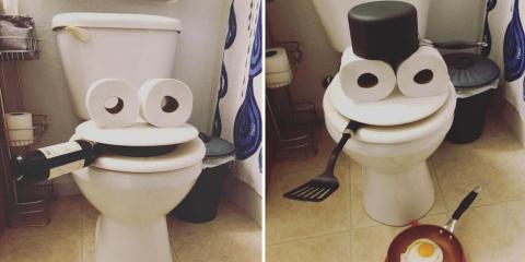 Elle réinvente ses toilettes pour en faire de...