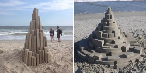 10 châteaux de sable qui mettent la misère à...