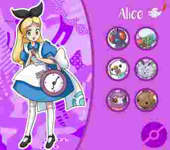 disney, princesse, pokemon, dresseuse, alice