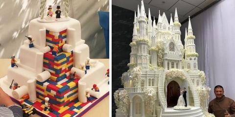 10 gâteaux de mariage incroyables