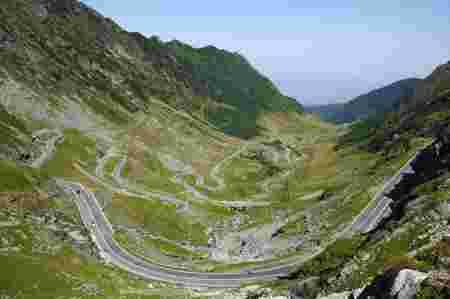 route, roumanie