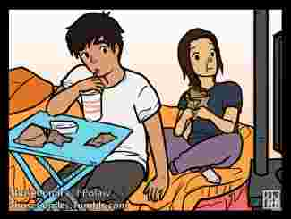 bd, those, comics, couple, mignon, sport