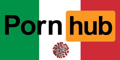Pornhub offre aux italiens en quarantaine un...