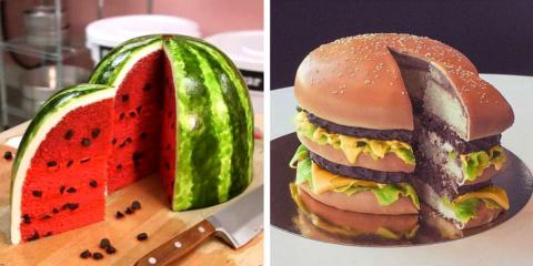 11 gâteaux hyperréalistes qui tromperaient n'...