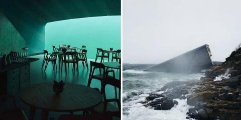 Un fantastique restaurant sous l'eau ouvre se...