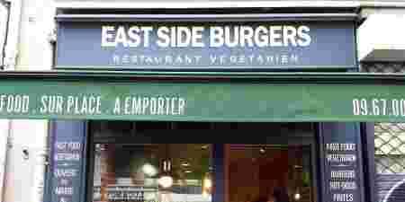east side burgers fast food végétarien vegan paris