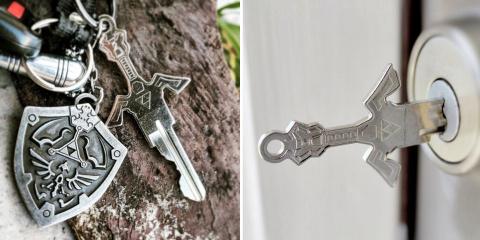 Cette boîte crée des clés-épées pour avoir la...