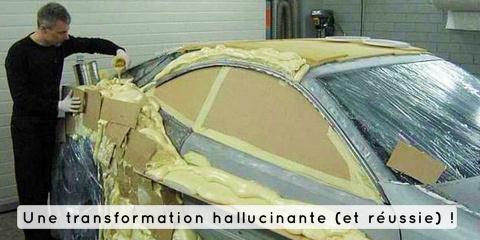 Cet homme transforme sa vieille Mercedes en v...