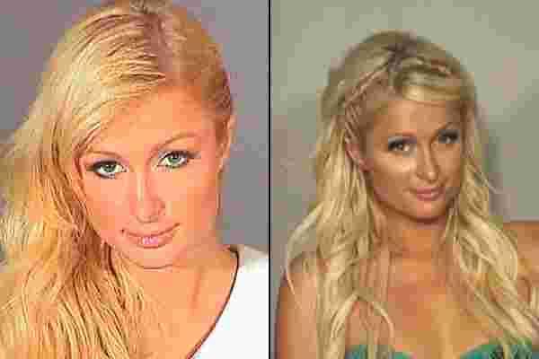 mugshot de Paris Hilton