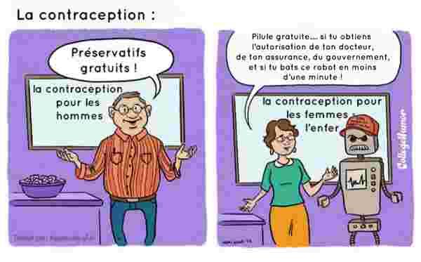 contraception vue par les sexes