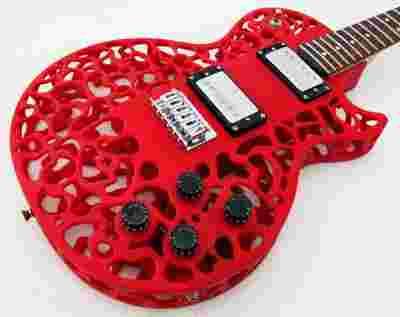 guitare, imprimante