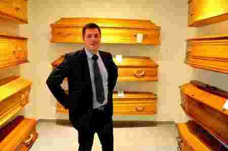 salle de cercueils