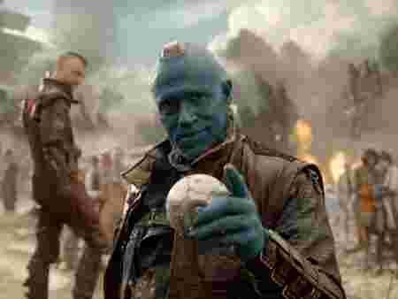 Michael Rooker dans Gardians of the Galaxy