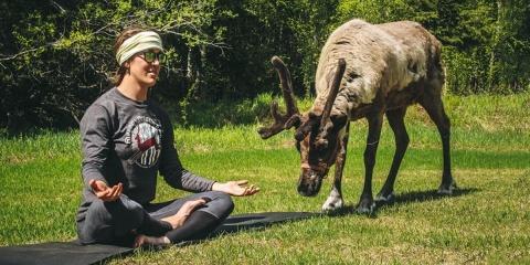 Il vous est possible de faire du yoga avec de...