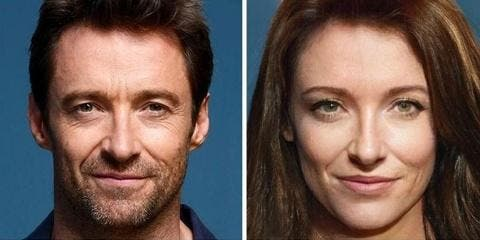 Les acteurs Marvel deviennent des femmes avec...