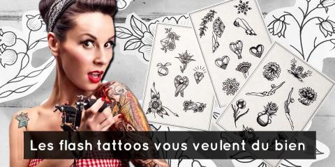 """10 choses à savoir sur les """" flash tatouages..."""