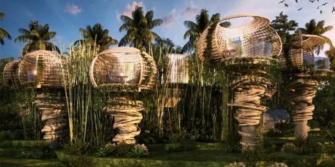 Cet hôtel unique sur une île est uniquement a...