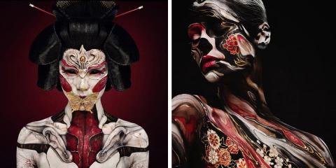 13 facepaintings et maquillages FX absolument...