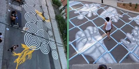 10 photos des fabuleux street-art de Montréal