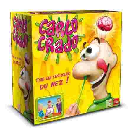 Carlo Cardo, cortte de nez, jeux enfance