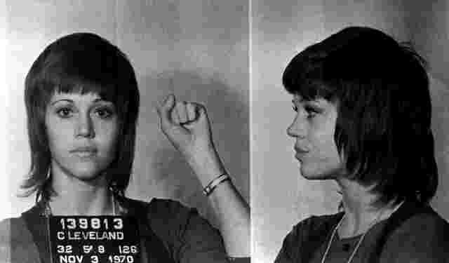 mugshot de Jane Fonda