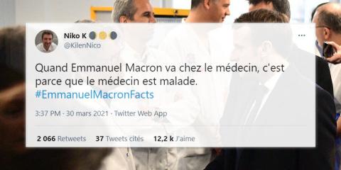 """15 tweets qui font de macron un véritable """"Di..."""
