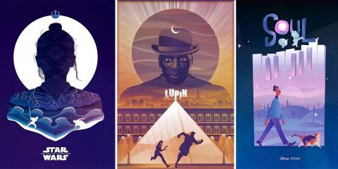 15 affiches de films et de séries revisitées...