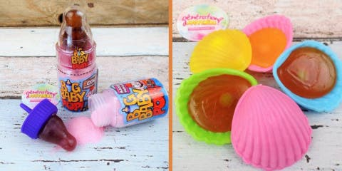 12 bonbons et sucreries qu'on adorerait retro...