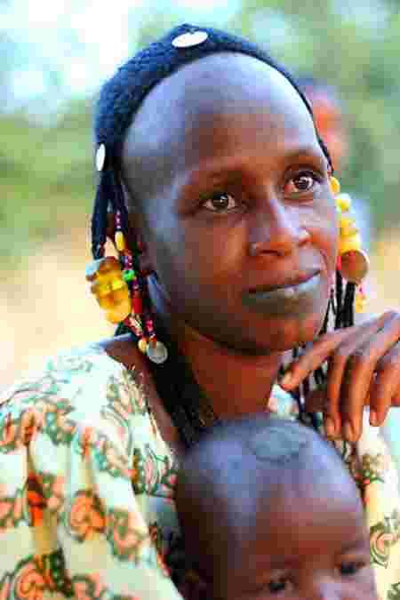 front femme grand tribu