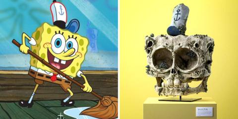 Filip Hodas a créé les crânes réalistes de Bo...