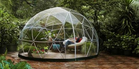 Ce dôme pour jardin va faire votre bonheur du...