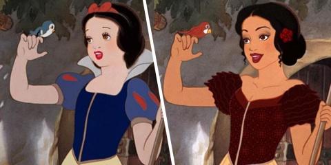 Un artiste redessine les princesses de Disney...