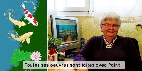 Une grand mère de 88 ans crée d'incroyables p...