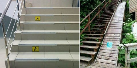14 lieux avec des accès pour fauteuils roulan...