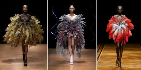 24 robes haute couture d'une finesse unique v...